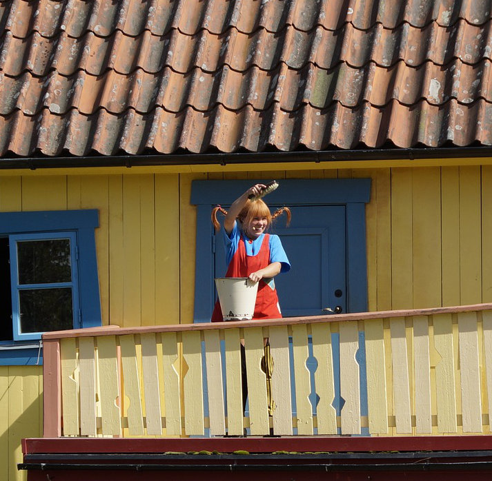 Pippi Longstocking - Open air stage as a family piece in 2019
