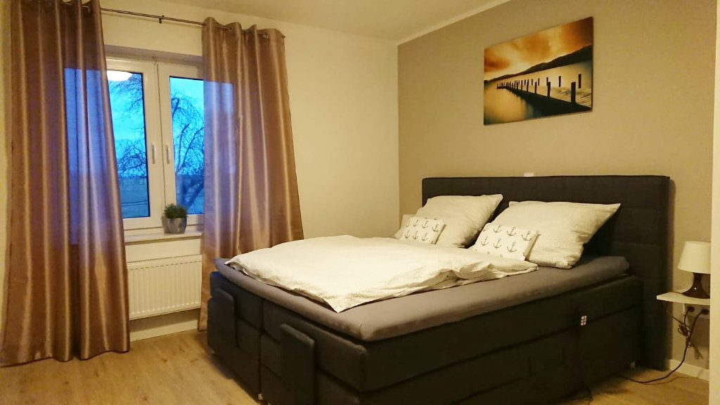 Holiday cottage Delbrück with two bedrooms and box spring beds