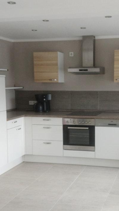Ferienhaus Delbrücker Land große Küche mit Spülmaschine