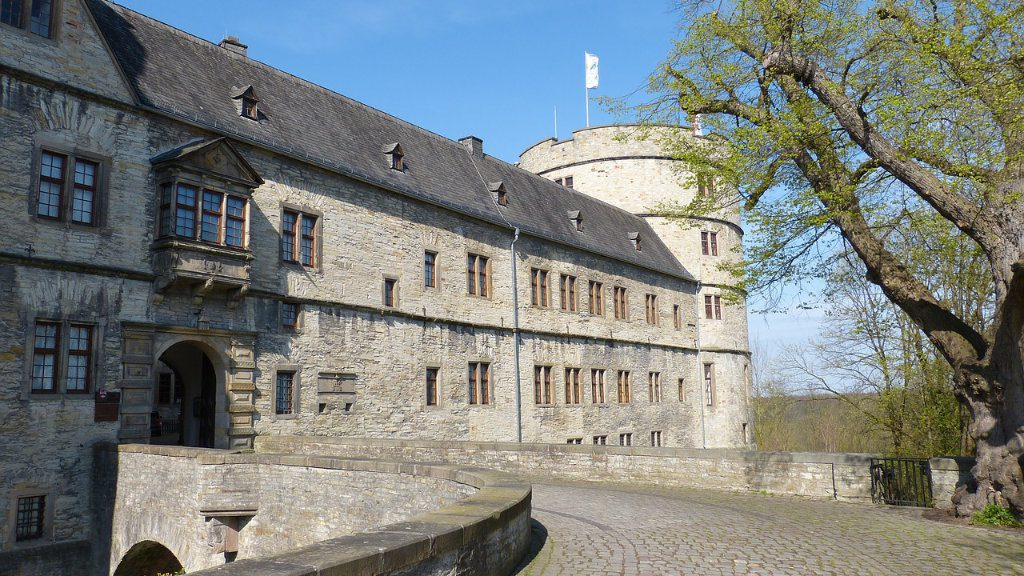 Holiday home near Wewelsburg - Triangle Castle