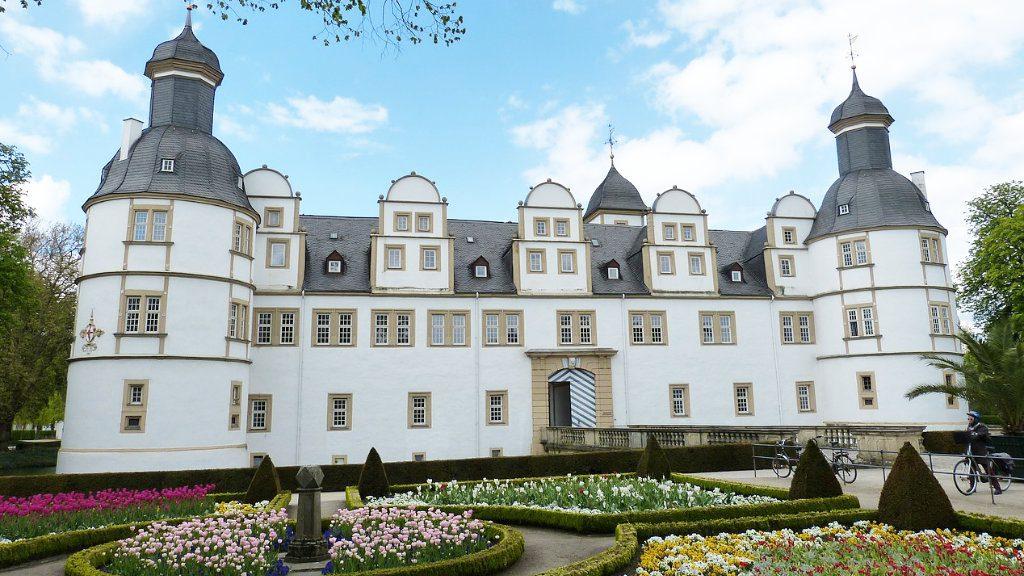 Paderborn Schloß-Neuhaus Barockgarten
