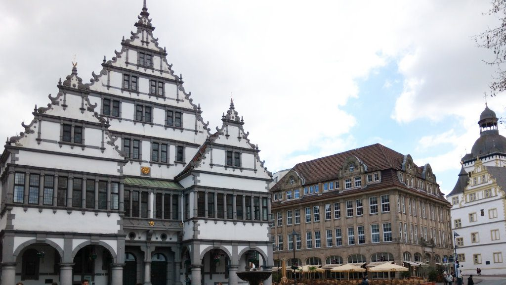Town hall in Paderborn